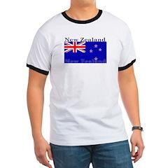 New Zealand Zealander Flag T