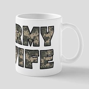 ARMY WIFE Mugs