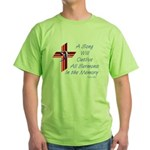 Song/Sermon Bass Clef Green T-Shirt