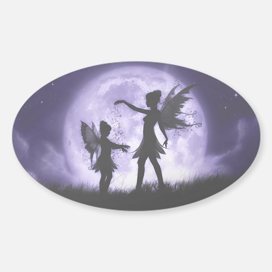 Fairy Sisters Sticker (Oval)