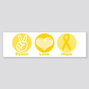 Peace Yel Hope Bumper Sticker