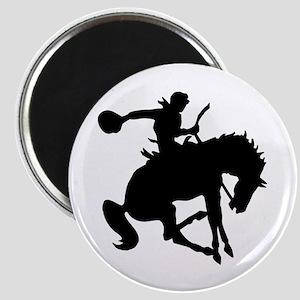 Bucking Bronc Cowboy Magnet