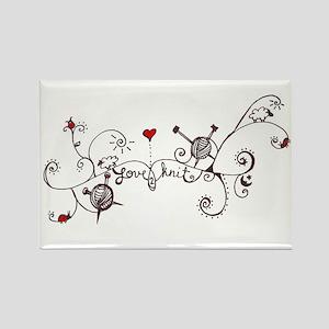 Knit Art Magnets