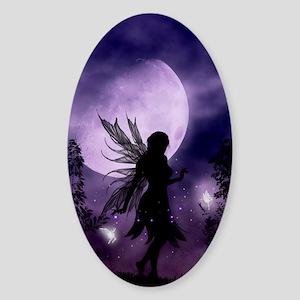 Dancing Fairy Sticker (Oval)