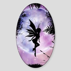 Pixie Dreams Oval Sticker