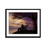 The Dreamer Framed Panel Print