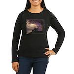 The Dreamer Women's Long Sleeve Dark T-Shirt