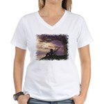 The Dreamer Women's V-Neck T-Shirt