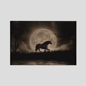 Unicorn Dreams Rectangle Magnet