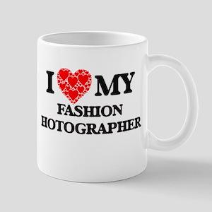 I Love my Fashion Photographer Mugs
