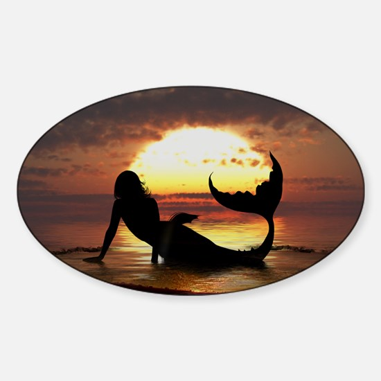 Existence Oval Decal
