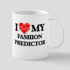I Love my Fashion Predictor Mugs