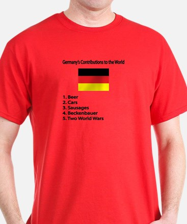 """Whooligan Germany """"Contributions"""" T-Shirt"""