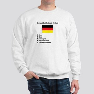 "Whooligan Germany ""Contributions"" Sweatshirt"