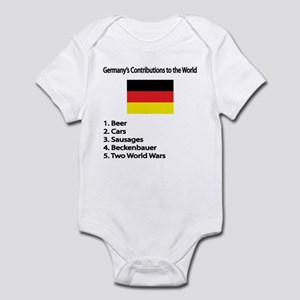 "Whooligan Germany ""Contributions"" Infant Bodysuit"
