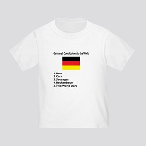 """Whooligan Germany """"Contributions"""" Toddler T"""