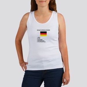 """Whooligan Germany """"Contributions"""" Women's Tank Top"""
