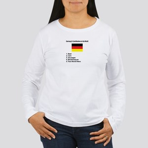 """Whooligan Germany """"Contributions"""" Women's Long Sle"""