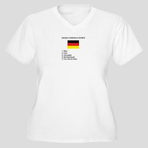"Whooligan Germany ""Contributions"" Women's Plus Siz"