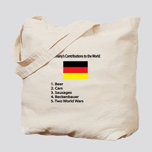 "Whooligan Germany ""Contributions"" Tote Bag"