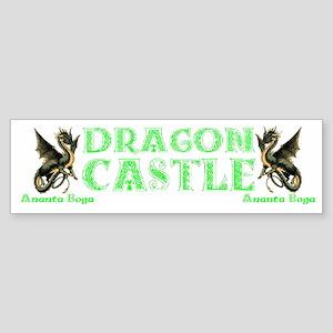 Dragon Castle Bumper Sticker