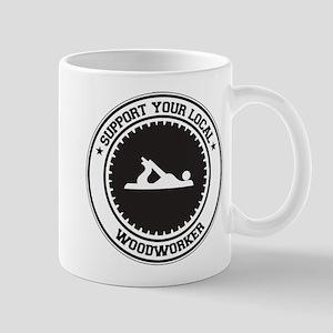Support Woodworker Mug