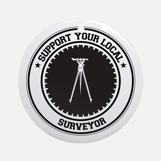 Support Surveyor Ornament (Round)