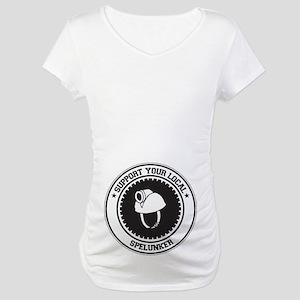Support Spelunker Maternity T-Shirt