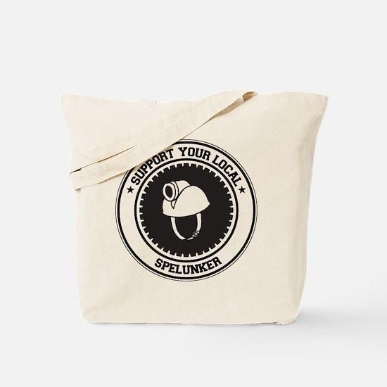 Support Spelunker Tote Bag