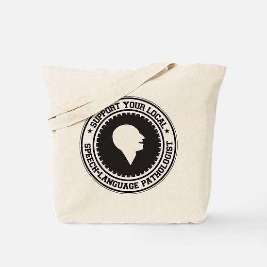 Support Speech-Language Pathologist Tote Bag