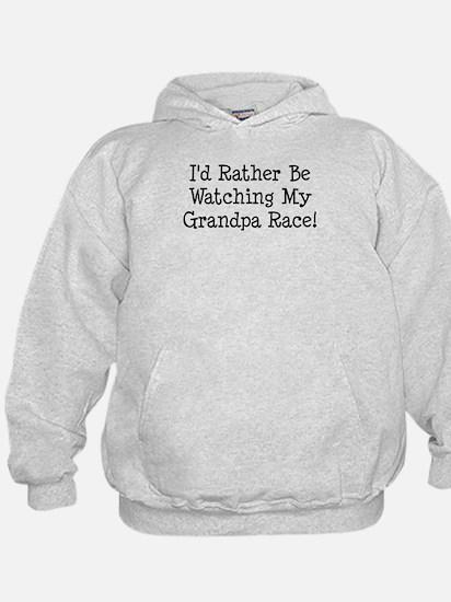 Watch My Grandpa Race Hoodie