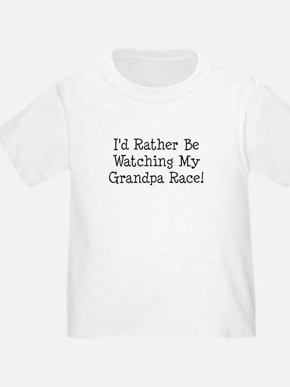 Watch My Grandpa Race T