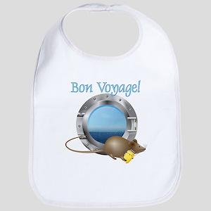 Sailing Mouse on Vacation Bib