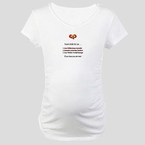 """Whooligan Russia """"Putin Hit List"""" Maternity T-Shir"""