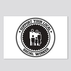 Support Social Worker Postcards (Package of 8)