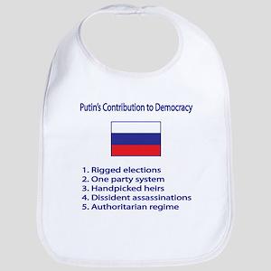 "Whooligan Russia ""Putin Democracy"" Bib"