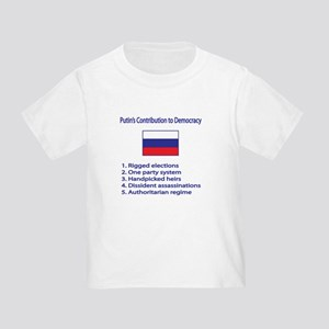"Whooligan Russia ""Putin Democracy"" Toddler"