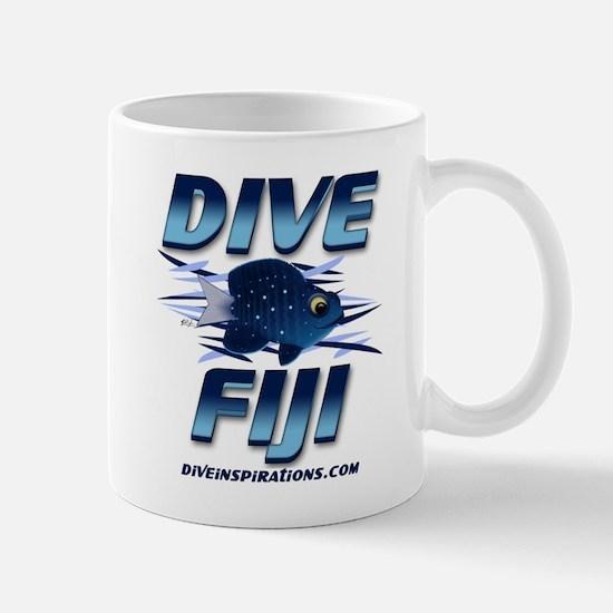Dive Fiji (blue) Mug