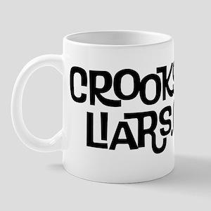 2 line text Logo Mug
