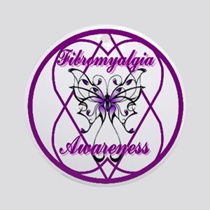 Fibro Butterfly Ornament (Round)