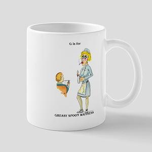 Greasy Spoon Waitress Mug