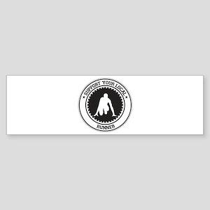 Support Runner Bumper Sticker