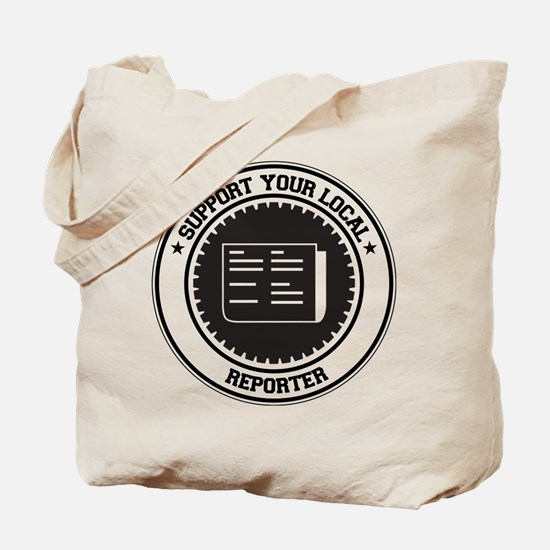 Support Reporter Tote Bag