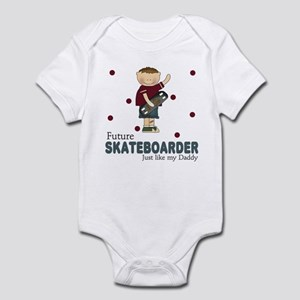 Future Skateboarder Like Daddy Infant Bodysuit