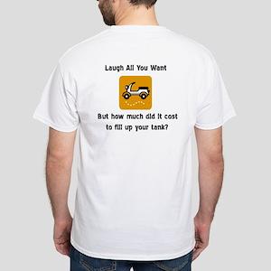 Gas White T-Shirt