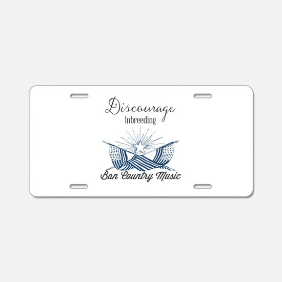 Discourage Inbreeding. Ban Aluminum License Plate