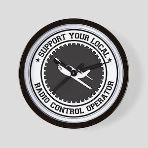 Support Radio Control Operator Wall Clock