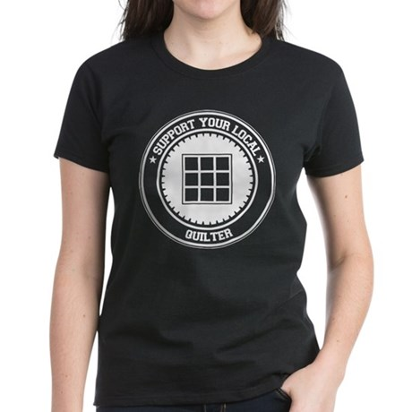 Support Quilter Women's Dark T-Shirt