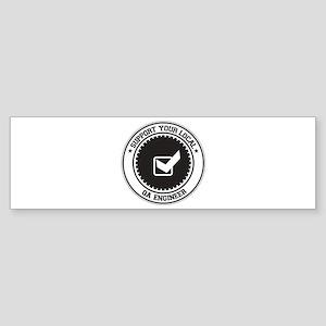 Support QA Engineer Bumper Sticker