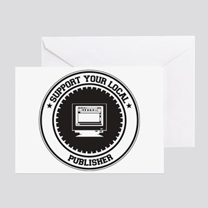 Support Publisher Greeting Card